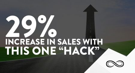 """29% Increase in Sales with this One """"Hack"""""""
